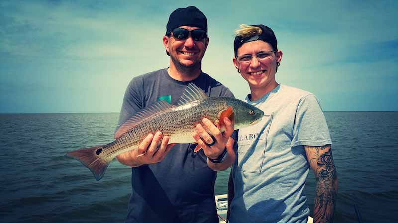 fishing near orlando for redfish